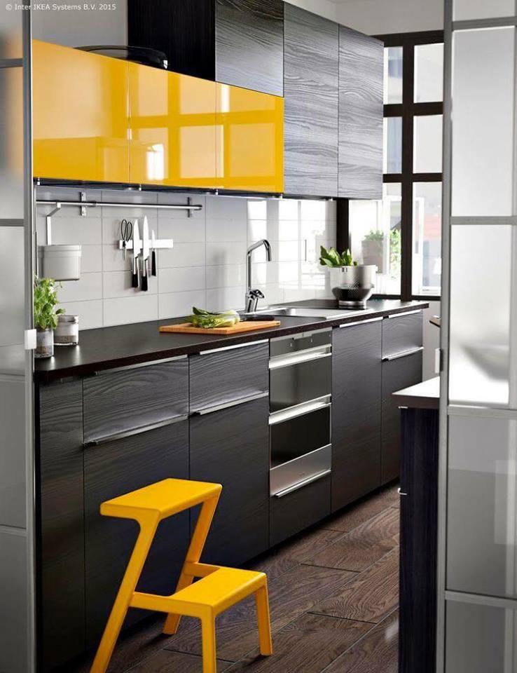 6 x unique yellow kitchen design ideas